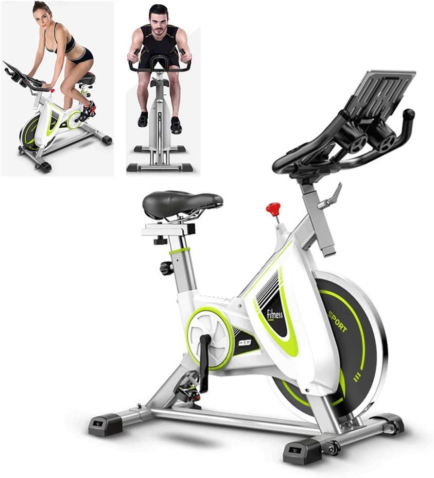 エクササイズバイク、回転自転車女性の部屋ホーム8速調節可能な自転車の減量フィットネス機器 - 屋内スポーツ自転車