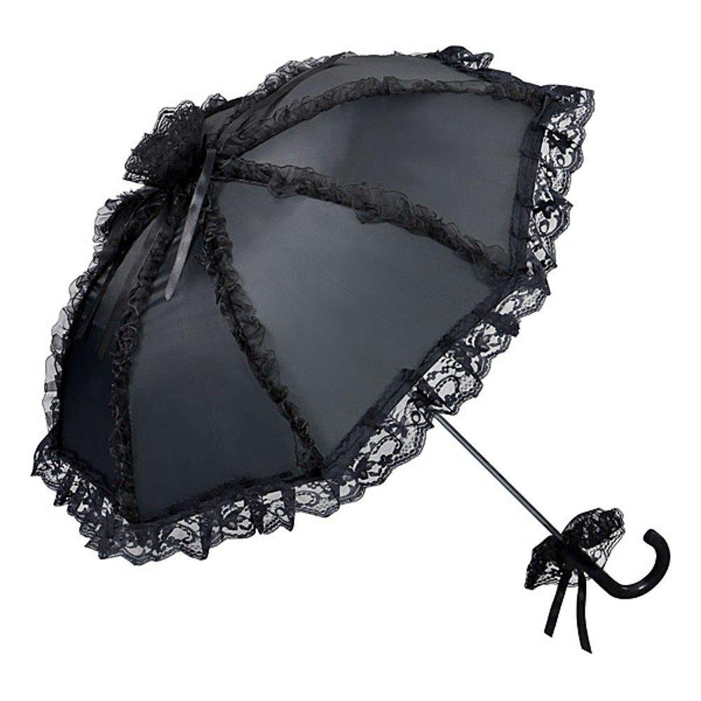 VON LILIENFELD Ombrello da sposa matrimonio donna accessori Malisa champagne/bianco/nero