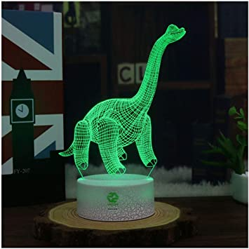 Amazon Com Night Light For Kids Dinosaur Toy Toddlers Illusion