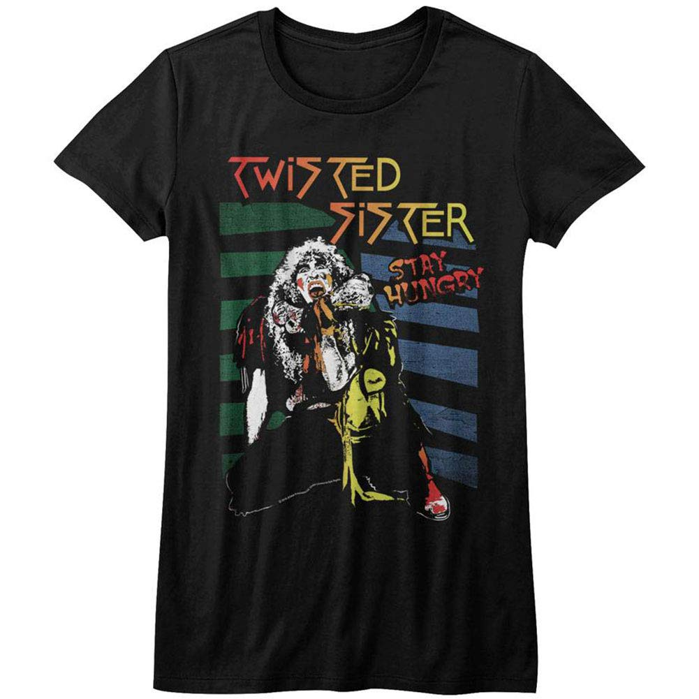 Twisted Sister American Heavy Metal Band Stay Hungry T Shirt Tee