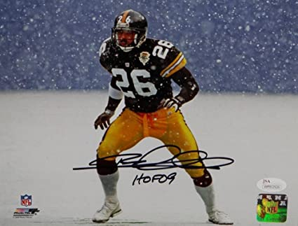 Image Unavailable. Image not available for. Color  Rod Woodson Autographed  Steelers ... 03516d933