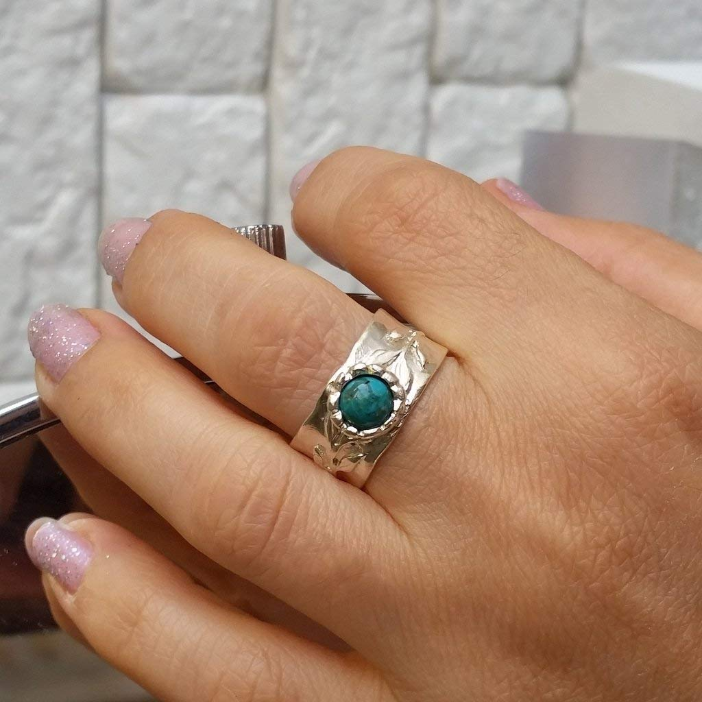 925 silver ring with stones