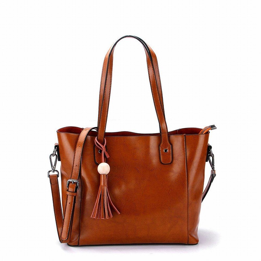 Ölwachs Handtasche Handtasche Schulter Diagonal Handtaschen , khaki