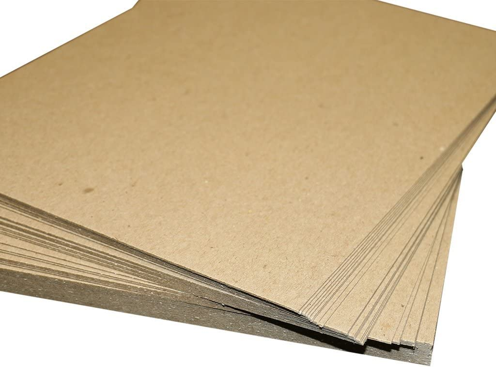 Chipboard Sheets for Arts and Crafts Scrapbooking Backing Mounting Board Picture Framing Shipping Cardboard 5 pack HGP 8 1//2 x 11
