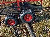 Yutrax TX159 Black/Red Trail Warrior X4 Heavy