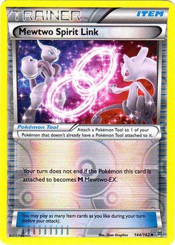 Pokemon - Mewtwo Spirit Link (144/162) - XY BREAKthrough - Reverse Holo