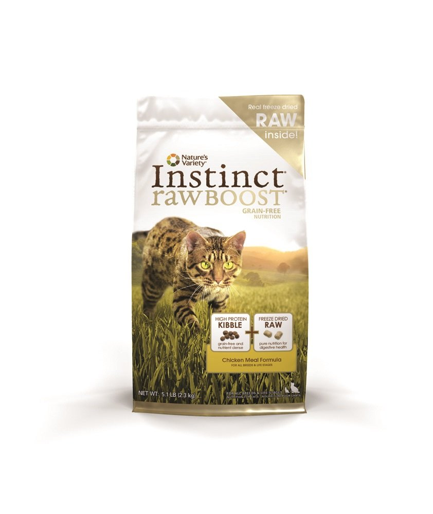 Nature's Variety Instinct Raw Boost Grain-Free Dry Cat Food