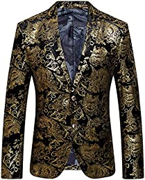 Amazon.com: Gold - Suits &amp Sport Coats / Clothing: Clothing Shoes