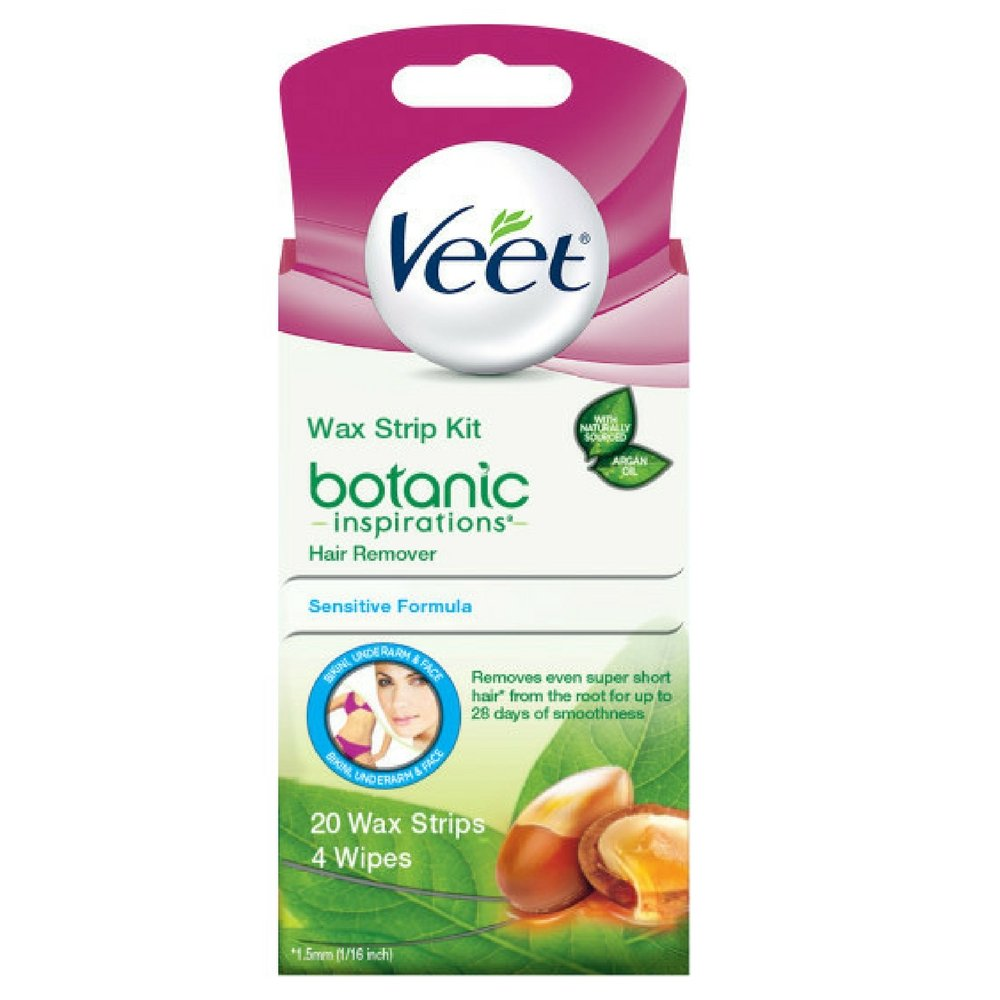Veet Ready To Use Wax Strips 20 ea by Reckitt Benckiser