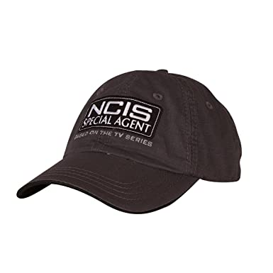 e3c4e8e1fd9f9 Amazon.com  NCIS Special Agent Embroidered Hat - Grey  Clothing