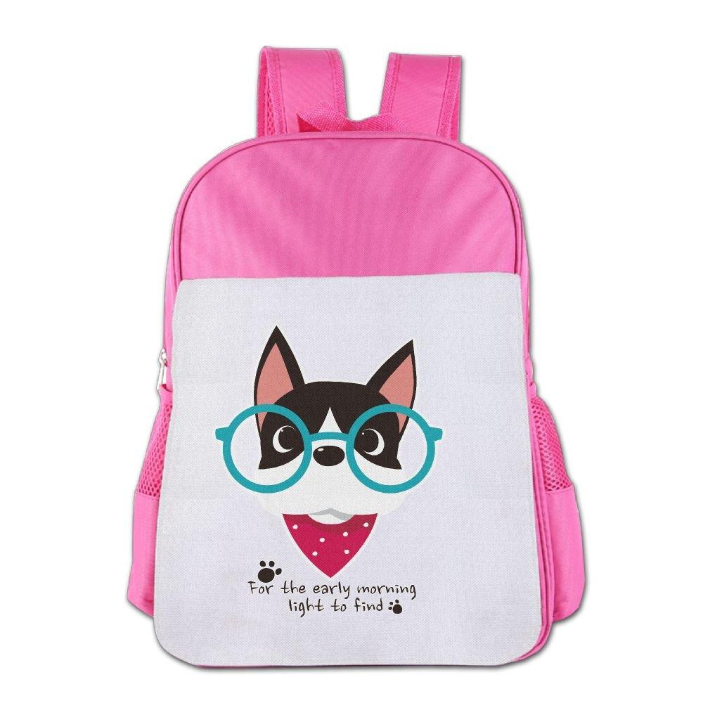 Glasses-dogdba ユニセックスキッズ カラー: ピンク   B076DM6CQK