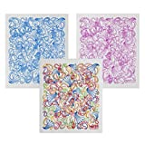 Wet-It Swedish Dishcloth Set of 3 - Paisley in Blue, Pink and Multicolors - NEW