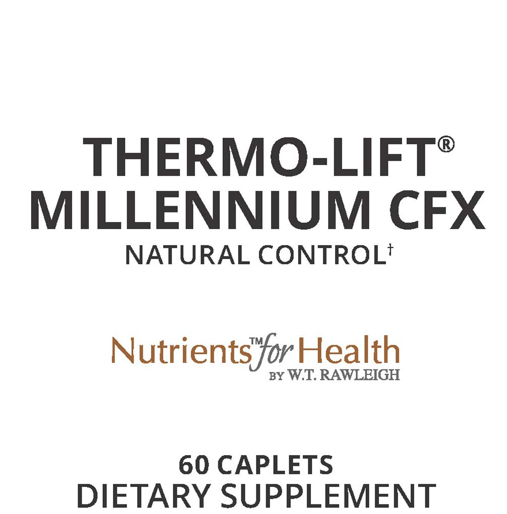 Carb Blocker - Weight Loss Pills - Appetite Suppressant - Diet Support - Fat Blocker - Thermo-Lift Millennium CFX : 60 Caplets - Nutrients for Health by WT Rawleigh by W.T. Rawleigh (Image #3)