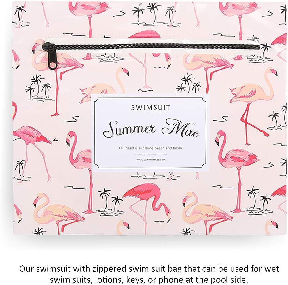 Summer Mae Costumi da Bagno Premaman maternit/à Tankini Imbottite da Donna