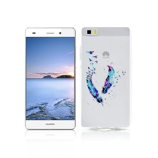 37 opinioni per Cover Huawei P8 LITE Custodia TPU Silicone OuDu Cover Huawei P8 LITE Cassa Gomma