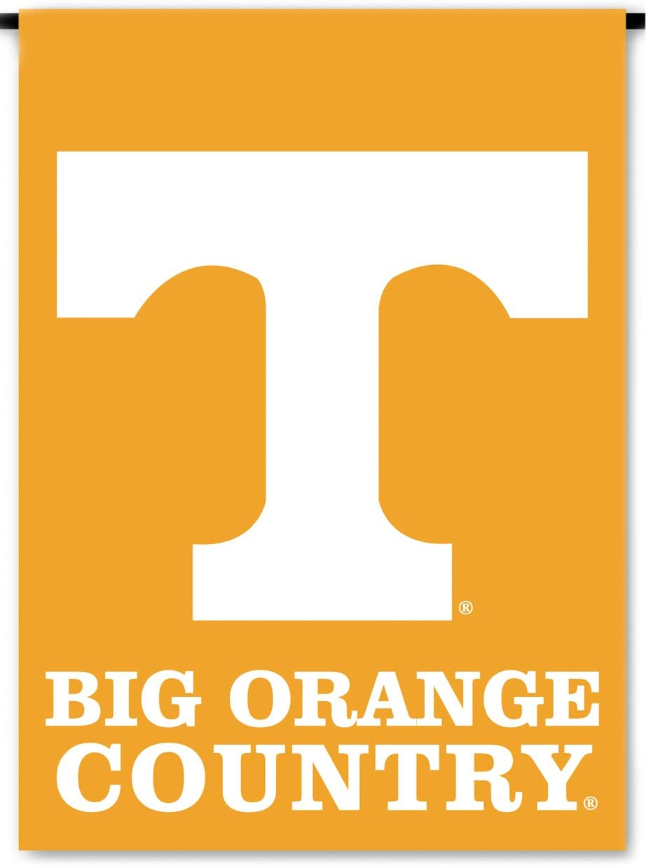 NCAA Tennessee Volunteers 2-Sided Country Garden Flag, Team Color
