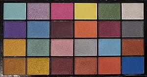 PETAL CRAFTS 24 Color Palette Dazzler Luster Dust