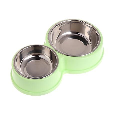 haorw mascotas perro gato – Cuenco (Acero Inoxidable – Escudilla para perros comida comida rígida
