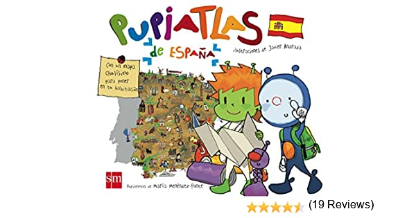 PupiATLAS de España: Amazon.es: Menéndez-Ponte, María, Martínez ...