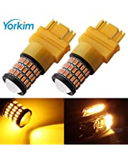 Yorkim Super Bright 3157 Amber LED Bulb, 3157 LED Brake Lights, 3157 LED Backup