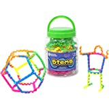 Learning Resources STEMS 3D Fun Education Construction Toy for ages 5+ Set of 60 in Storage Tub