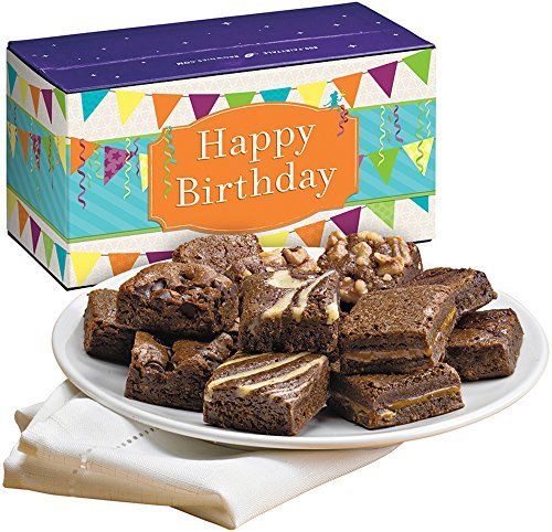 Fairytale Brownies Birthday Magic Morsel Dozen Gourmet Food Gift Basket Chocolate Box...