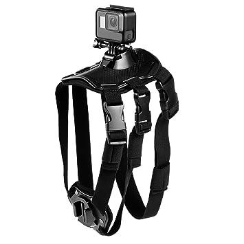 SupTig perro arnés cinturón de correa de pecho montaje para GoPro Hero 6 Hero 5 Hero 4 Hero 3 + Hero 3 Yi Acción: Amazon.es: Electrónica