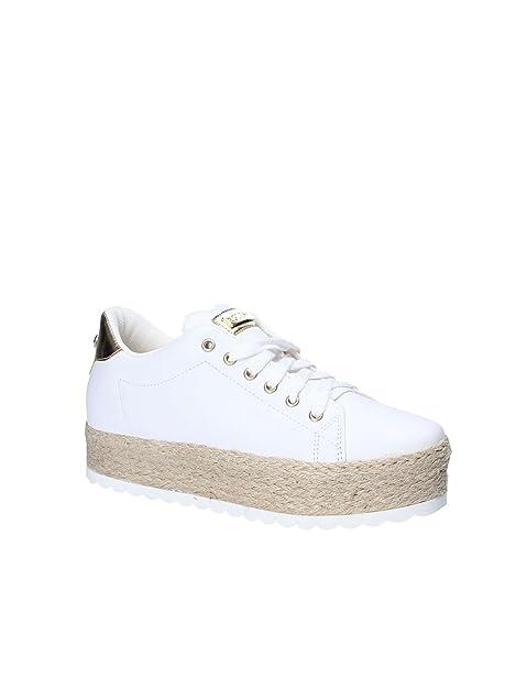 Qr35l4aj 35amazon Itscarpe Sneaker Lea12 Flmri2 Guess White Miriam qSzVMpGU