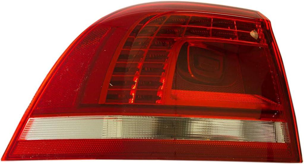 Valeo 44606 Driver Side LED Tail Light Assembly for Select Volkswagen Touareg Models