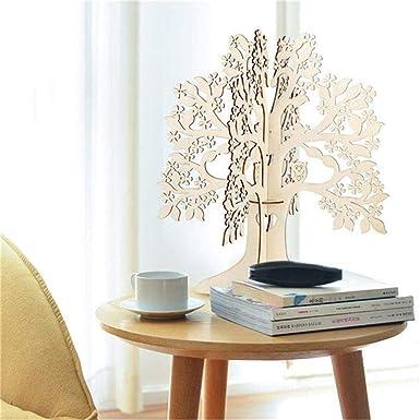 Amazon.com: Muranba 2019 Colgante de madera con forma de ...