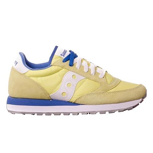 SAUCONY scarpe sneaker uomo JAZZ ORIGINAL S2044-450 giallo blu 41 eu - 8 us  - 7 uk  MainApps  Amazon.it  Scarpe e borse e6cef8e206e