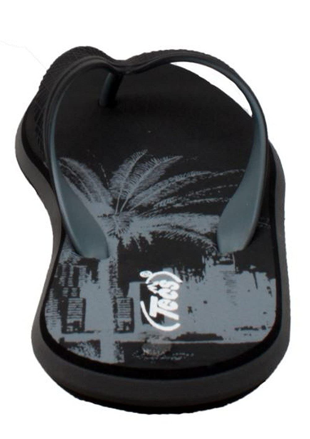 ShaBoom Mens Dual Density Comfort Thong Sandal Black 9-M