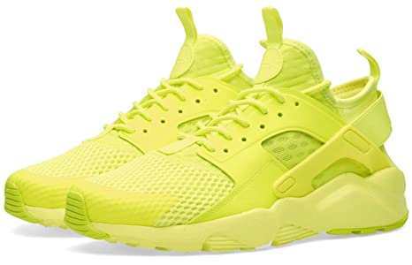 meilleure sélection d7a3b eb84d Nike Air Huarache Ultra Breathe Men's Trainers, Yellow Mesh ...