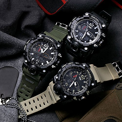 Yiding Mens Sports Digital Watch Multifunctional Watch Christmas Gift by YiDing (Image #5)