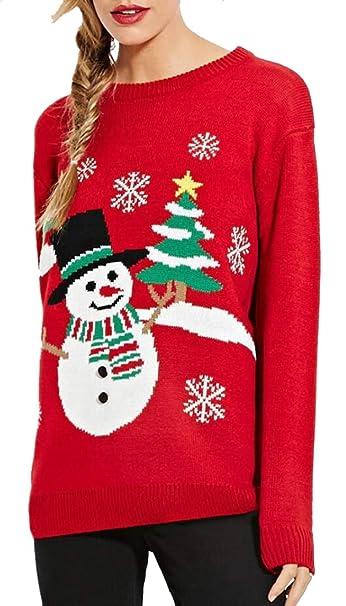Vintage Christmas Sweaters.Beloved Womens Vintage Christmas Sweater Xmas Tunic Knit