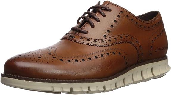 TALLA 44.5 EU. Cole Haan Zerogrand Wing, Zapatos de Cordones Oxford para Hombre