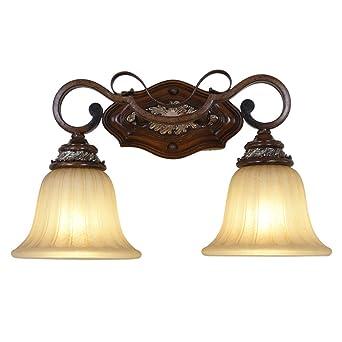 American Wandleuchte Spiegel Lampe Eisen Wandleuchte Badezimmer