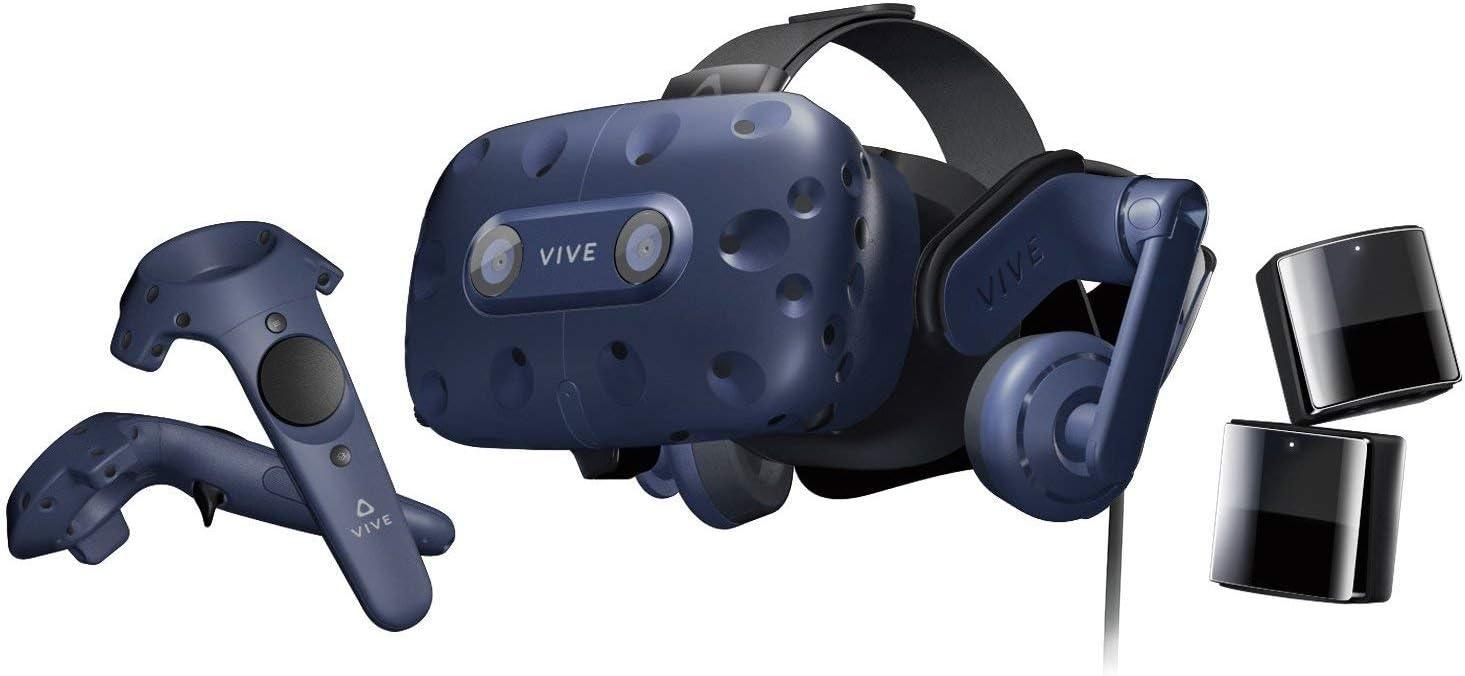 Amazon.com: HTC VIVE Pro Virtual Reality System Bundle with ...