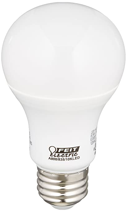 FEIT ELECTRIC A800/835/10KLED Non-Dimmable Led Bulb, 60 W
