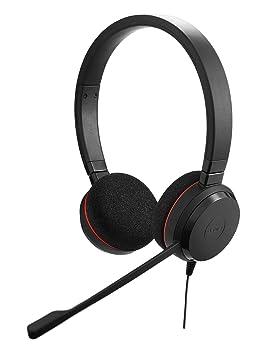 Jabra Evolve 20 cascos estéreo y mono para oficina inalámbricos con Bluetooth®, negro: Amazon.es: Electrónica