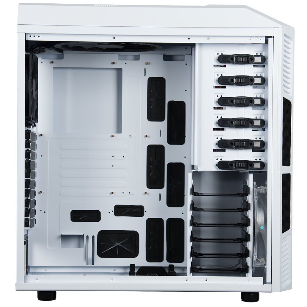 Rosewill Gaming ATX Full Tower Computer Case Cases THOR V2-W Black, white by Rosewill (Image #3)