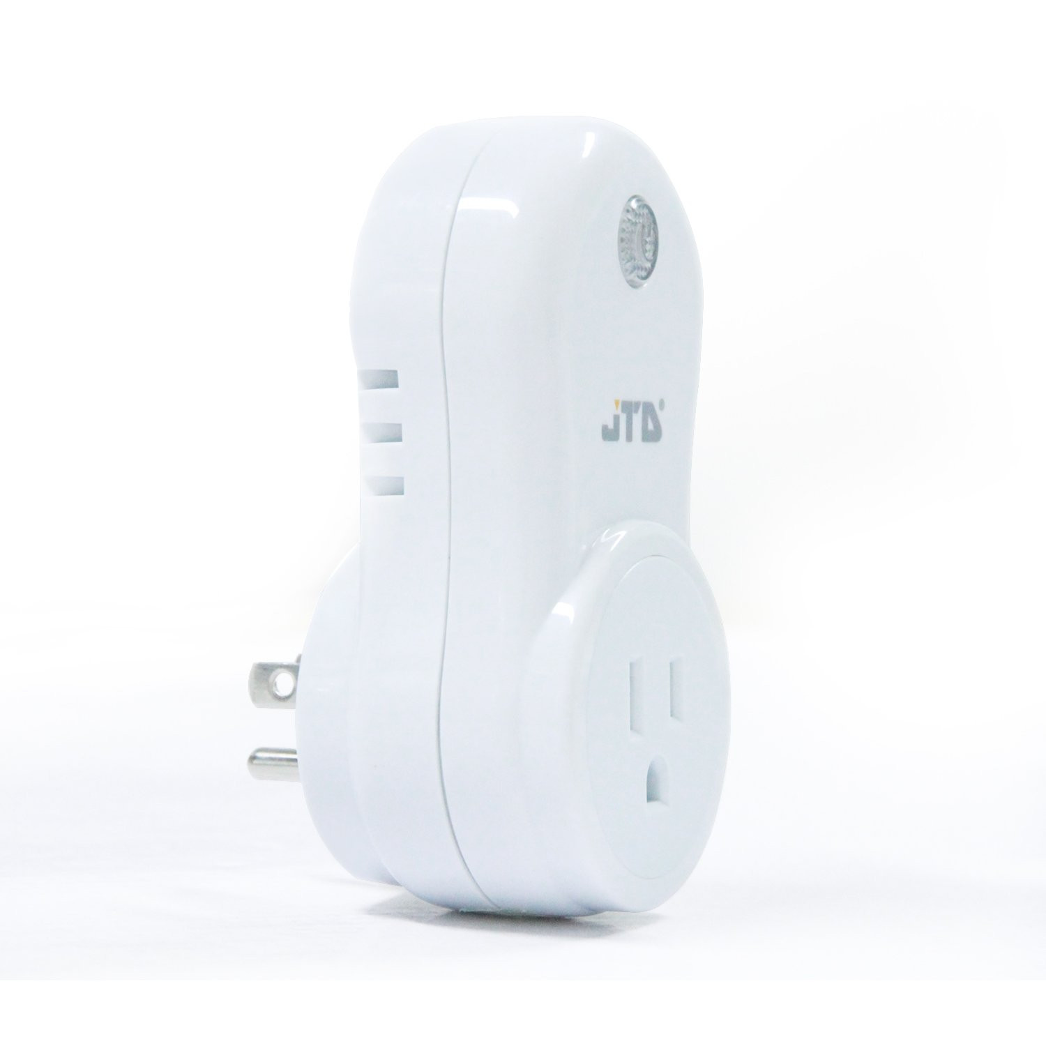 JTD Energy Saving Auto-programmable Wireless Remote Control Electrical Outlet Switch Outlet Plug (1Plug-1Remote Second Gen) by JTD (Image #3)