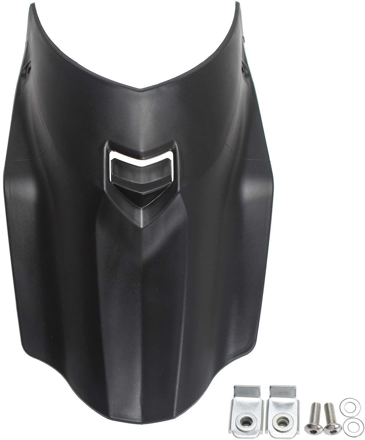 GIDIBII Motorbike Front Wheel Mudguard Fender Extender Extension For BMW R1200GS R1250GS ADV 2017-2019 Motorcycle Black