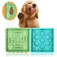 Dotee tazón de alimentación lenta para perro, respetuoso con el medio ambiente, duradero y alfombrilla de silicona con…