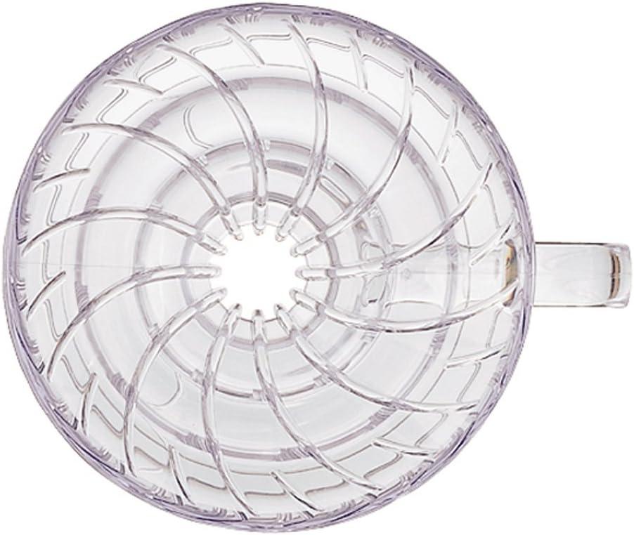 blanc Hario Porte-filtre en plastique pour machine /à caf/é Size 01