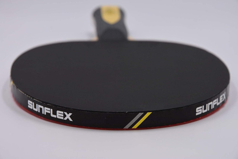 Sunflex Tischtennis Schl/äger Freizeit Hobby Spieler EXPERT A30