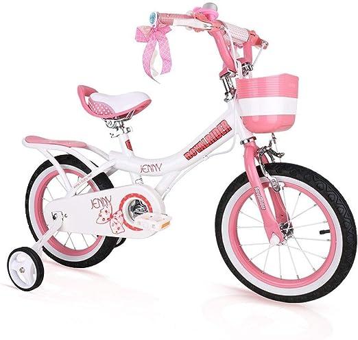 MDBYMX Bicicleta Infantil Bicicleta for niños Princess Student Bike Bicicleta for niños 12