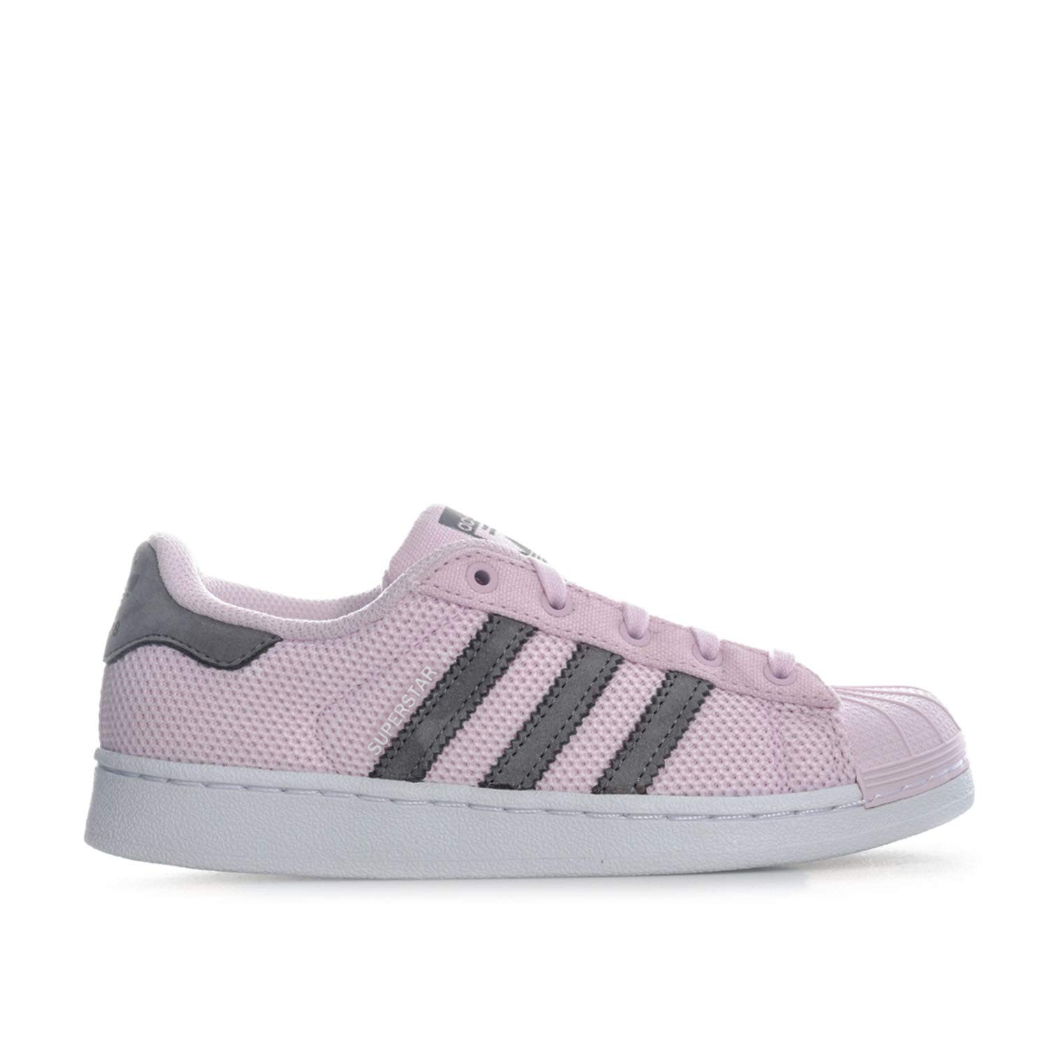 new concept 91765 9f0de Amazon.com | adidas Originals Girl's Superstar Trainers 10.5 ...