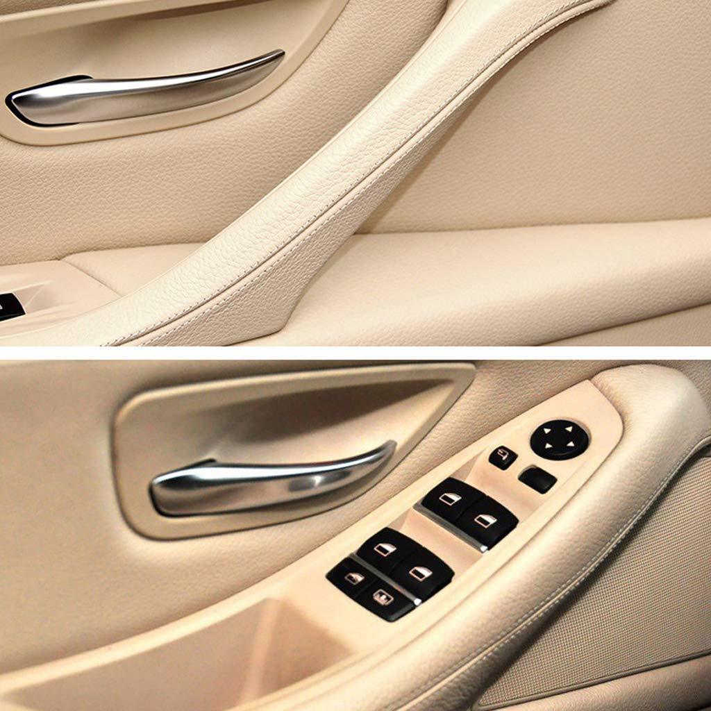 Gazechimp Auto Innen T/ürgriff Fensterheberschalter Taste Rahmen Panel F/ür BMW 5er F10 F18