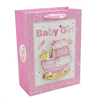 Personalised Premium Gift Bags Set With Ribbon Durable Handles Paper Present Bag For Birthday Christmas